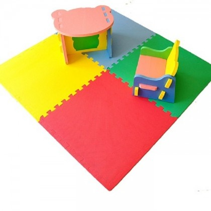 Sunta Puzzle Carpet Baby Play Mat Floor Puzzle Mat EVA Children's Foam Carpet Mosaic floor Developing Crawling Rugs 4Pcs
