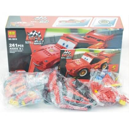 BELA LET'S GO CARTOON CARS BUILDING BLOCK SERIES NO.10016