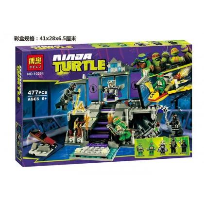 Bela Ninja Turtle No.10264 Building Block Toy