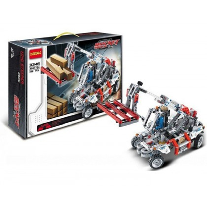 Decool 3346 Technic Bucket Truck Car Building Blocks Toy