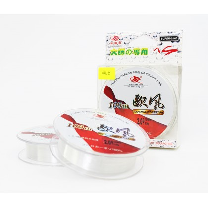 10lb Diao Man Duo Super Strong 100% Fluoro Carbon Fishing Line