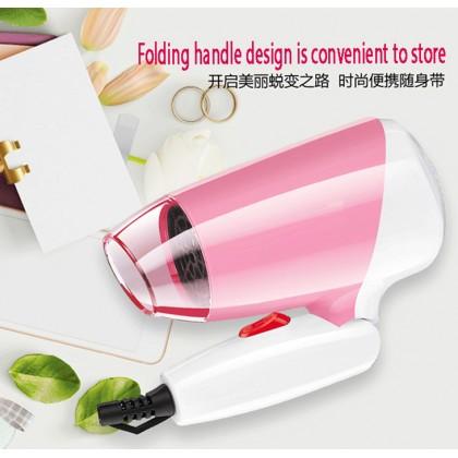 Sonar SN-32 Mini Portable Foldable Travel Hair Dryer 1200W + Hair Straightener
