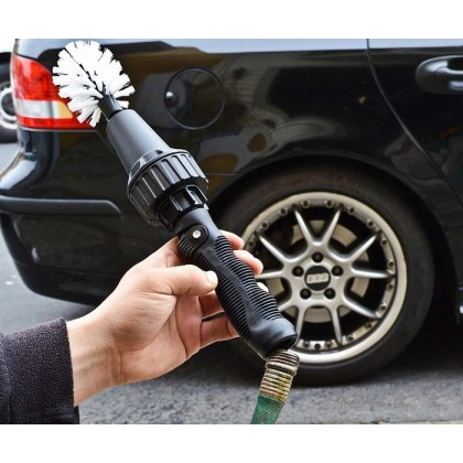 Car Brush Car Wheel Tire Rims Scrubbing Cleaning Brush Tool