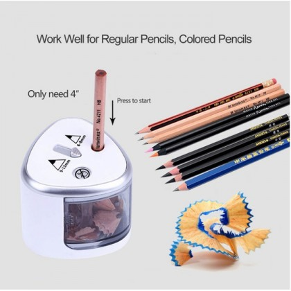 Automatic Two-Hole Pencil Sharpener Electric Pencil Sharpener