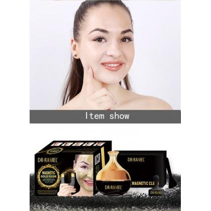 DR RASHEL Gold/ Black Face Magnetic Mask Collagen Skin Care Whitening Moisturizing 80g