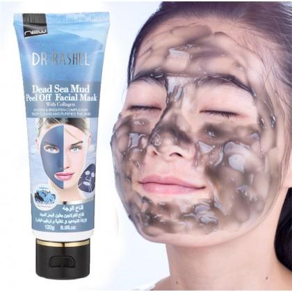 Dr-Rashel Dead Sea Mud Peel Off Facial Mask with Collagen 120ml