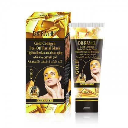 DR.RASHEL Gold Collagen Peel Off Facial Mask Tighten The  Skin and Delay Aging 80ml