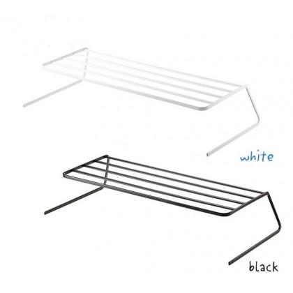 Iron Metal 2-layer Plate Dish Shelf Kitchen Storage Rack Organizer Nordic Style