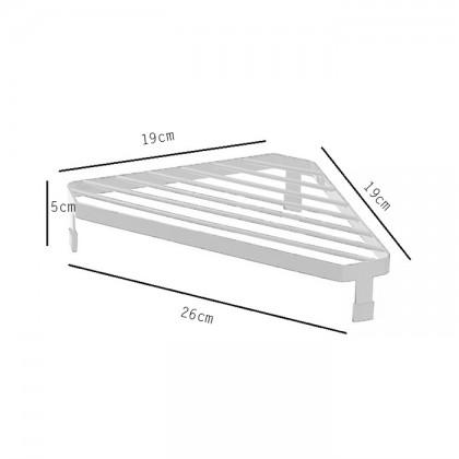 Iron Metal Multi Usage Double Single Layer Spice Stand Kitchen Rack Home Toilet Storage Organizer
