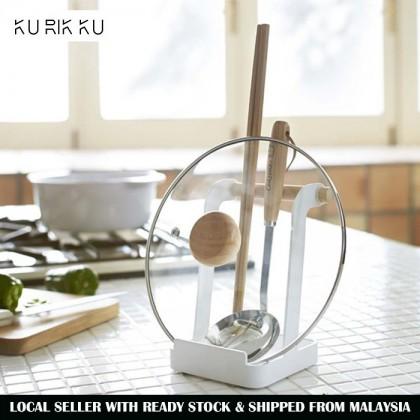 Iron Metal Pot Lid Rack Cutting Board Holder Hand Phone Stand Kitchen Utensil Storage Kitchenware Organizer Nordic Style