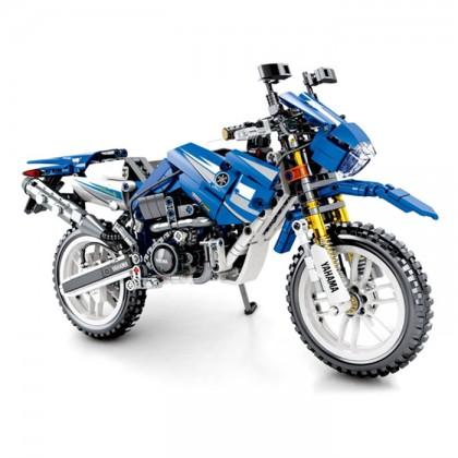 Sembo Technic Series 701702 799pcs Yamaha Toy Motorcycle Building Blocks Educational Toys Children Birthdays Gifts M Bricks