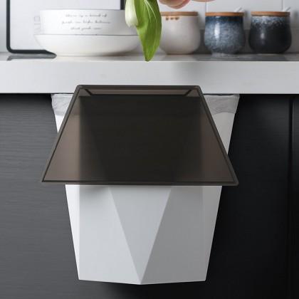 Hanging Waste Bin Kitchen Cabinet Door Hanging Trash Garbage Space Saving Dustbin Storage