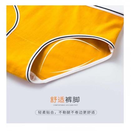 Comfort Cotton Colourful Panties Women Simple Fashion Underwear