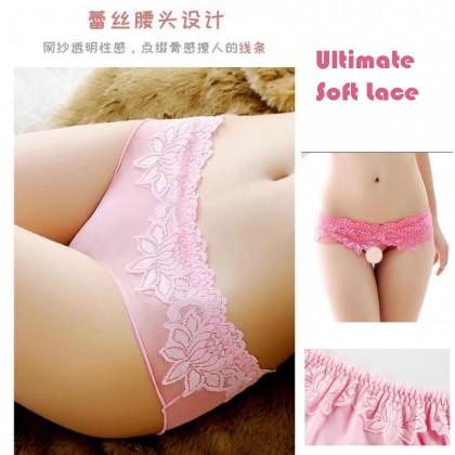 3019 Women Panties Lace Thong Crotch Panties G-String Sexy Underwear Breathable Lingerie Bikini
