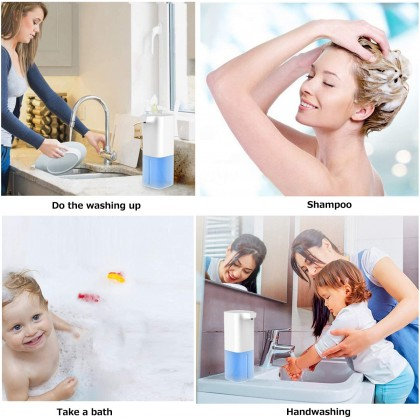 330ml Smart Sensor Foam Hand Washer Touchless Foaming Soap Dispenser Intelligent Infrared Sensor Foam Soap Pump
