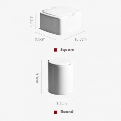 Pop Up Toothpick Box Multi Usage Press Drawer Storage Box Cotton Bud Container Jewelry Household Organizer With Lid Dustproof