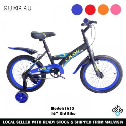 """EK-1635 16"""" Wheel Single Speed Kid Training Bike Moutain Bike MTB Kid Bicycle Y Bike"""