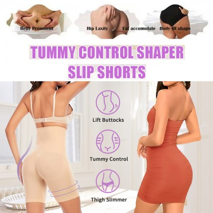 Non Slip Short Shapewear High Waist Shaping Pantie Tummy Control Underwear  Body Shaper Thigh Slimmer Bengkung