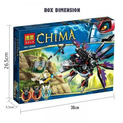 Bela No.10060 Razar's Chi Raider CHIMA 417 Pcs Building Blocks Children Toy