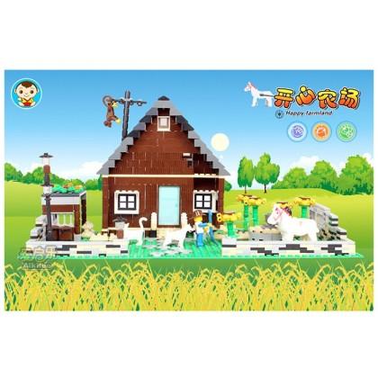Dr.Luck Building Happy Farmland No.34201N