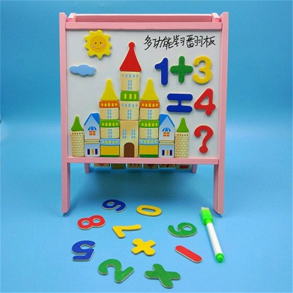 Xin Lei Multipurpose Vanes Wooden Toys Children Learn Flap